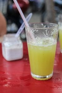 Sugar cane juice à la Hoi An
