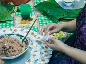 Food White Rose making, Hoi An, Vietnam (2017-05/06)
