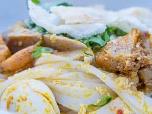 Cao Lao noodle food, Hoi An, Vietnam (2017-05/06)