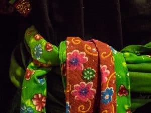Traditional dress, Rehahn Gallery and Museum, Hoi An, Vietnam (2017-05/06)