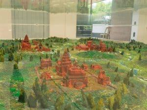 Model of My Son Sanctuary, Hoi An, Vietnam (2017-05)