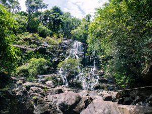 Waterfall at Phong Nha Botanical Garden, Vietnam (2017-06)