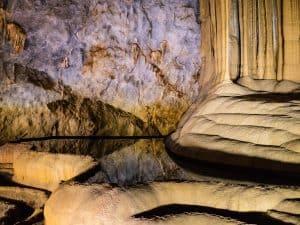 Pool reflection in Paradise Cave, Phong Nha-Ke Bang National Park, Vietnam (2017-06)