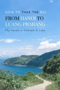 Traveling overland between Vietnam and Laos? Here's my account of the journey by bus from Hanoi to Luang Prabang plus lessons learned/practical tips for you. #backpacking #budgettravel #travelguide