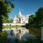 Desada Taya (White Temple), Inwa, Mandalay, Myanmar (2017-09)