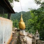 Inle Lake bike tour: Golden Rock at Maing Thauk Forest Monastery, Myanmar (2017-10)