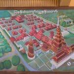 Plan of the Mandalay Royal Palace, Myanmar (2017-09)