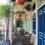 Collonaded sidewalk - George Town, Penang, Malaysia - 20171217-DSC02877