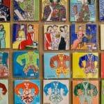 Colorful Nyonya Kebaya tiles at 41 Living History on Love Lane - George Town, Penang, Malaysia - 20171221-DSC03016
