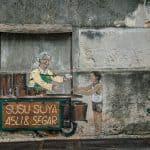 Penang Street Art: Sweets Hawker, George Town, Malaysia - 20171222-DSC03164