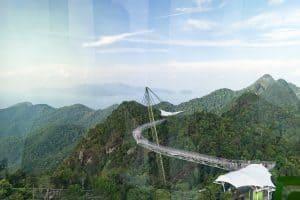 SkyBridge as seen from SkyCab, Langkawi, Malaysia