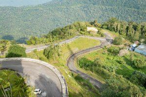 Road up to Gunung Raya, Langkawi, Malaysia