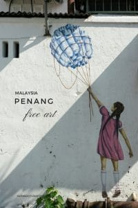 Some would say that street art has put Penang on the international tourism map. But Penang art is much more than stunning paintings on rugged walls. And best of all: You can explore much of it for free! #malaysiaitinerary #southeastasia #travelphotography