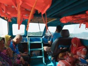 On the Temburong ferry, Bandar Seri Begawan, Brunei