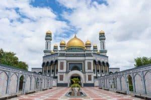 Jame Asr Hassanil Bolkiah Royal Mosque, Bandar Seri Begawan, Brunei-Darussalam