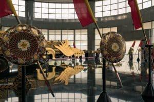 Royal Barge at Royal Regalia Museum, Bandar Seri Begawan, Brunei-Darussalam