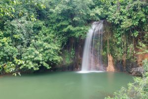 Waterfall at Tasek Lama Park, Bandar Seri Begawan, Brunei-Darussalam