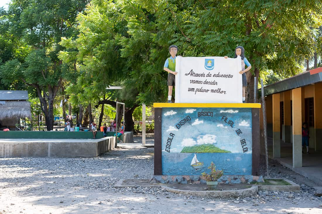 Atauro school, Beloi, East Timor