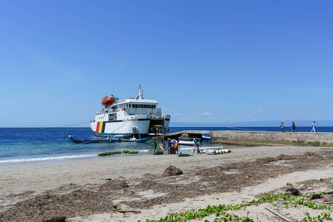 Berlin Nakroma Atauro ferry, East Timor