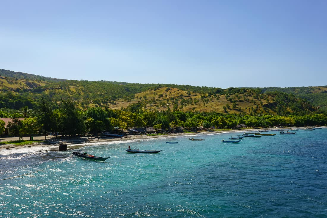 Beloi from the ferry, Atauro, East Timor