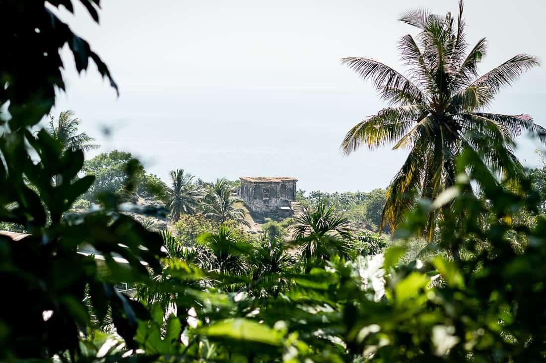 Abandoned Portuguese mansion, Baucau, East Timor