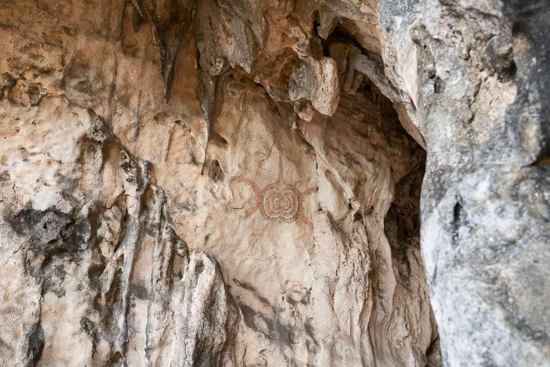 Kere Kere rock paintings, Tutuala, East Timor