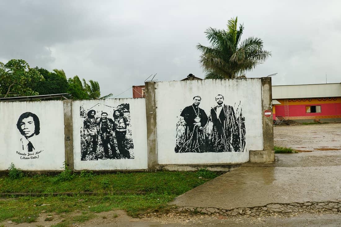 Lospalos Nino Konis Fretilin murals, East Timor