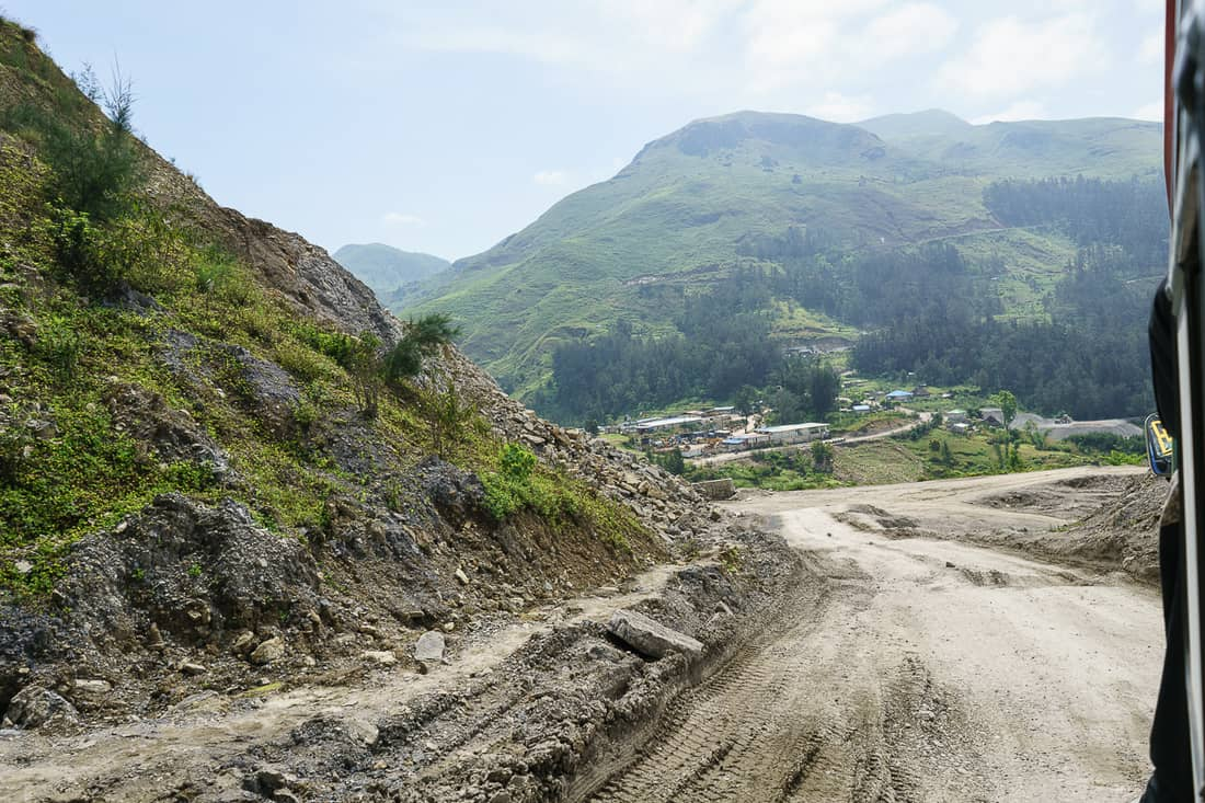 Road to Maubisse, East Timor