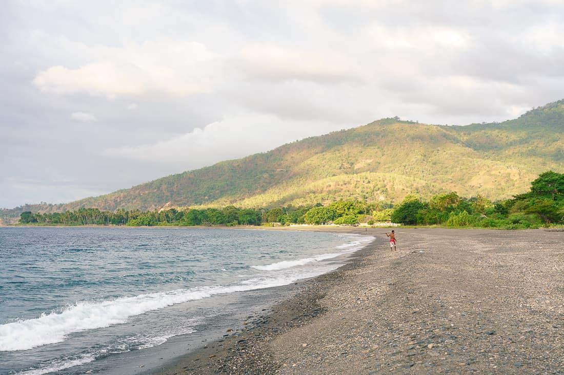Liquica's Lauhata beach, East Timor