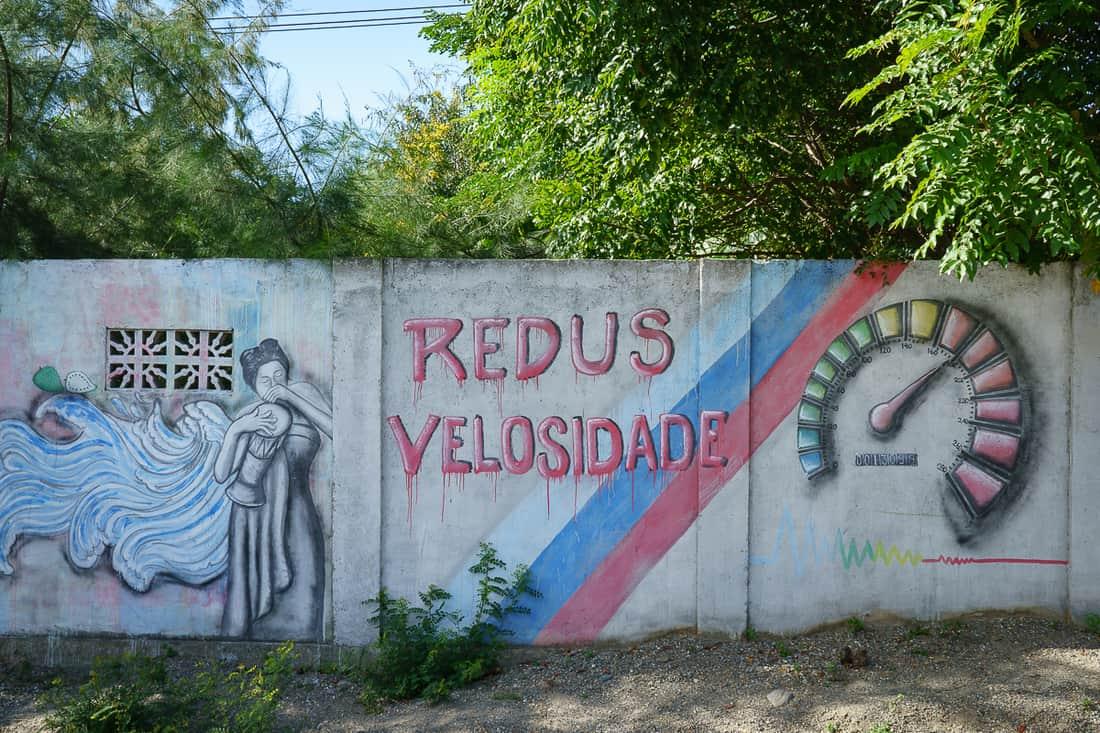 Liquica street art, East Timor
