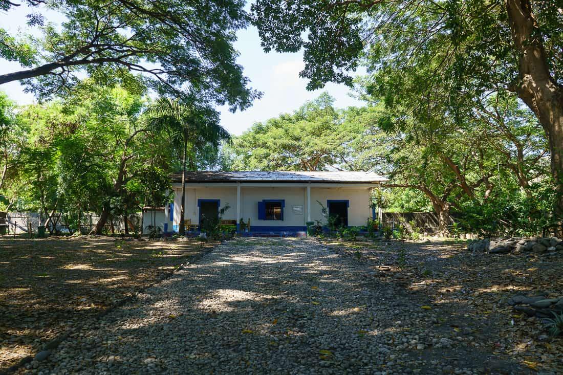 Inside Maubara fort, East Timor