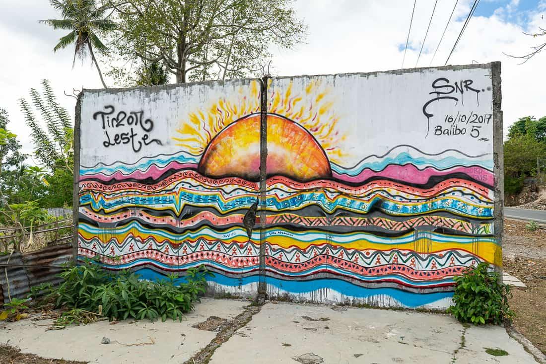Graffiti in Balibo, East Timor