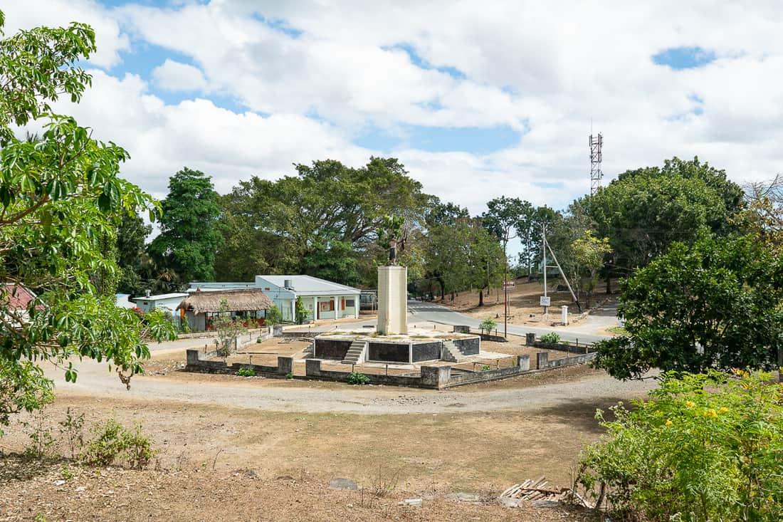 View of in Balibo 5 Flag House, East Timor