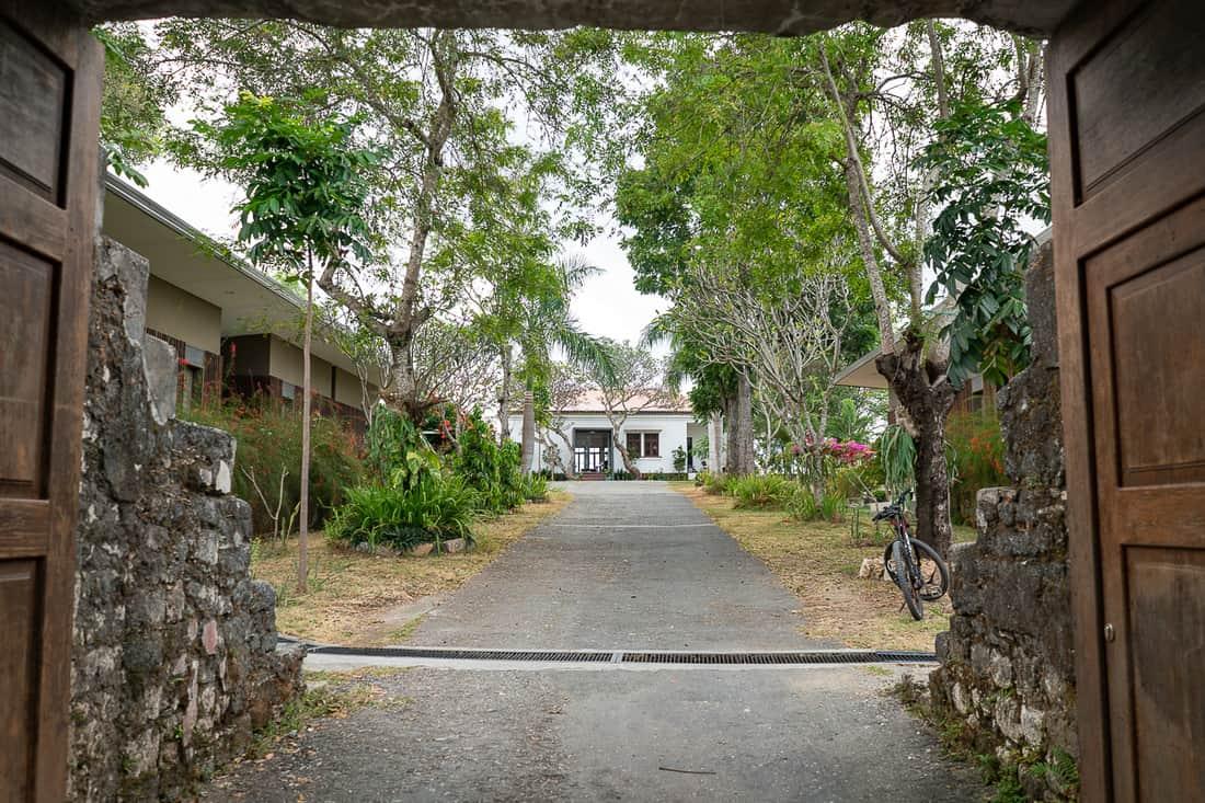 Entrance of Balibo Fort Hotel, East Timor