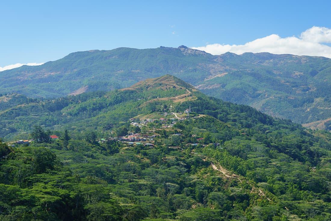 View of Letefoho, East Timor