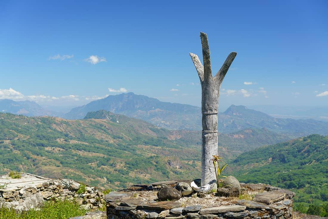View from Christo Rei do Letefoho, East Timor