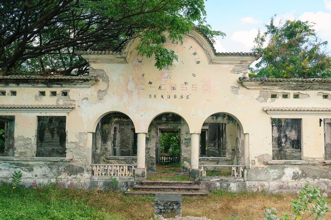 Future tourist information center, Pante Macassar, Oecusse, East Timor