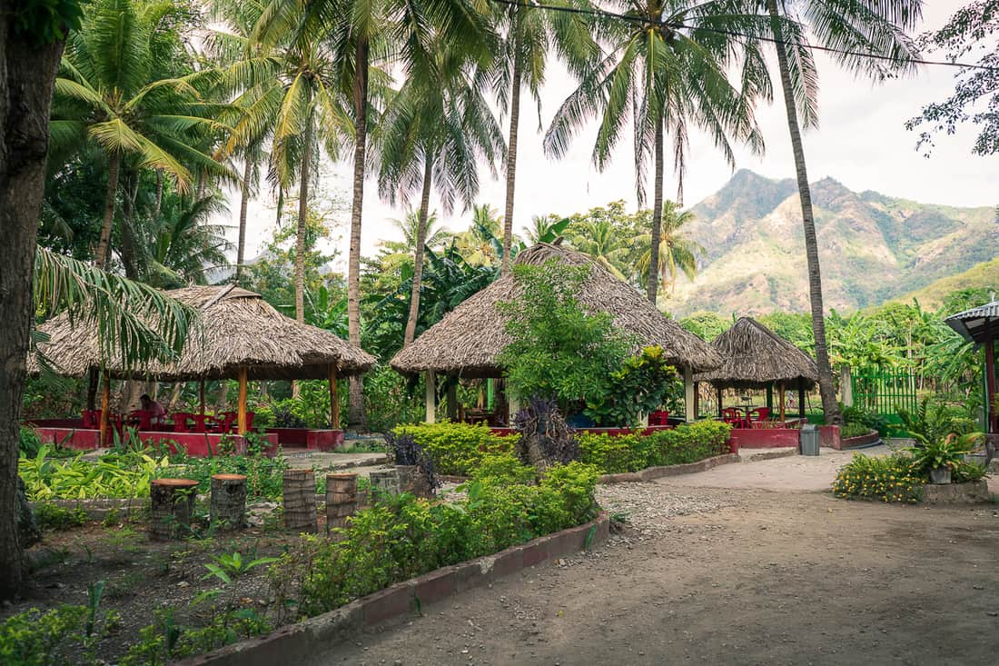 Dominican Sister's café in Pante Macassar, Oecusse, East Timor