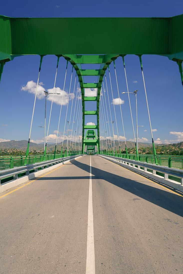 Noefefan bridge outside Pante Macassar, Oecusse, East Timor
