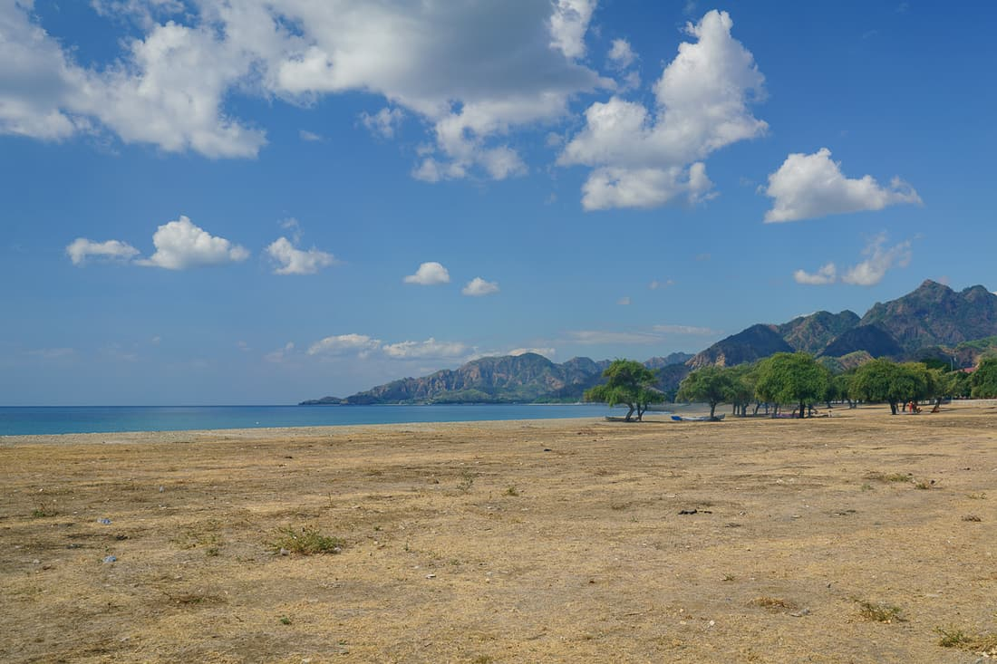 Beach by the airport, Pante Macassar, Oecusse, East Timor